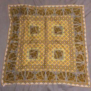 Vintage Silk/Rayon Neck Tie/Scarf